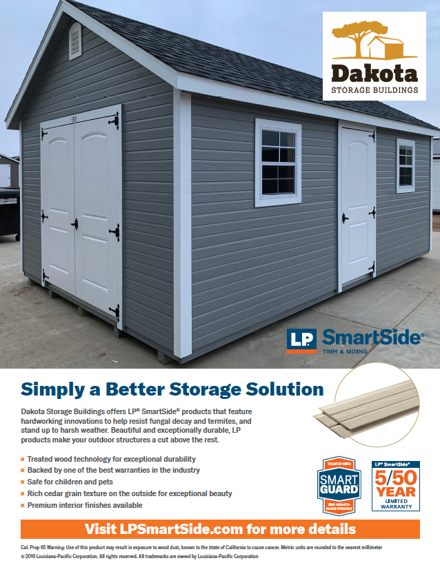LP SmartSide Dutch Lap Siding