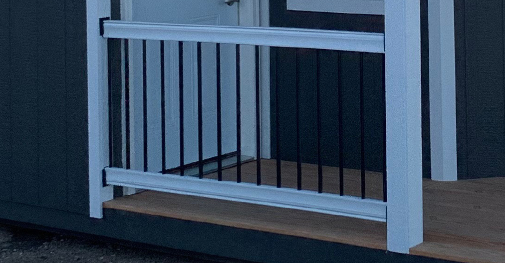 Porch Railing with Balusters