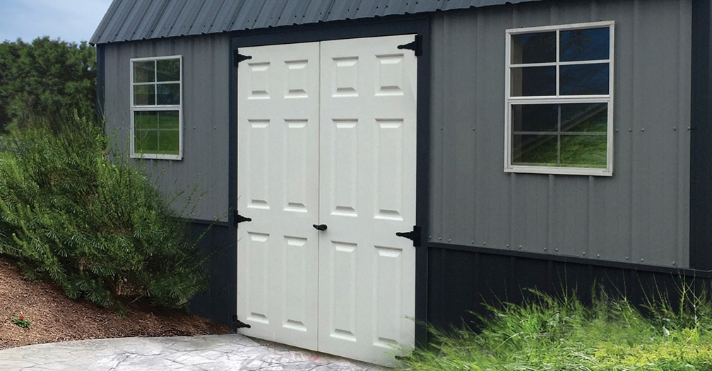 FiberglassDouble Doors